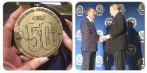 Dr. Bill Kuert, Lifetime Global Achievement Award Recipient.